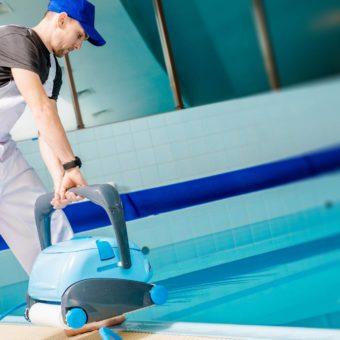 Limpiador Mantenimiento Piscinas Durante Todo El Ano